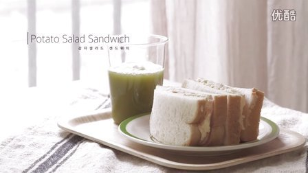 [Jennysta小吃货] 土豆沙拉三明治 Potato Salad Sandwich