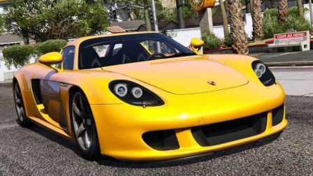 《GTA5》汽车mod #129保时捷 GT【外观奇特、性能卓绝、最佳操控】