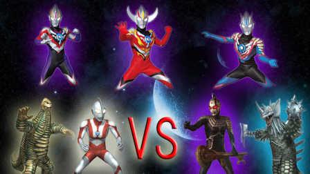 【Ultraman Fighting Evolution Rebirth】VS CPU HARD难度(欧布奥特曼音乐试用第二弹)小影!