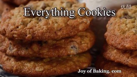 【饼干制作】Everything Cookies
