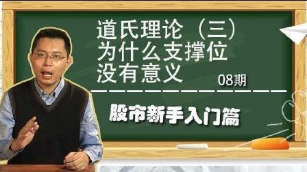 【静言股市】08:道氏理论(三):为什么支撑位没有意义