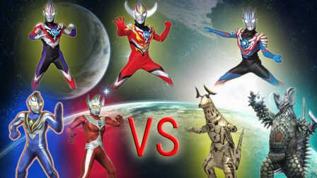 【Ultraman Fighting Evolution Rebirth】VS CPU HARD难度(欧布奥特曼音乐试用第三弹)小影!