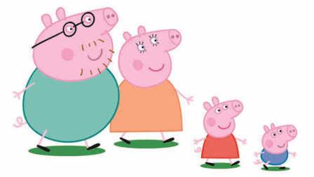 小猪佩奇第六季中文版粉红小猪佩琪动漫动画片
