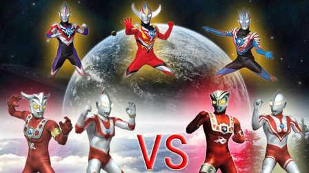 【Ultraman Fighting Evolution 3】VS CPU HARD难度(欧布奥特曼音乐试用第四弹)小影!
