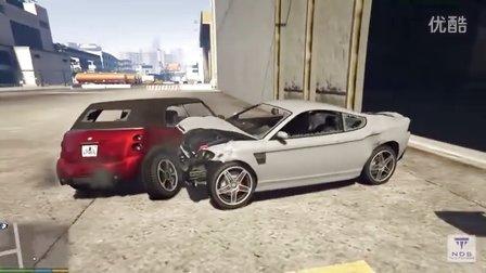 GTA5汽车碰撞测试1