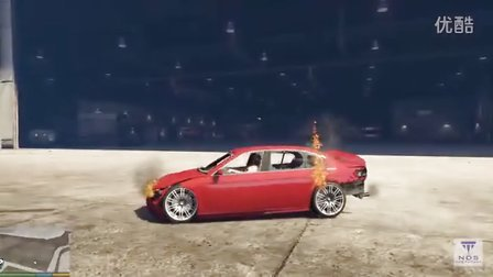 GTA5汽车碰撞测试3