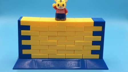 玩具SHOW 2016 一起来推墙拯救可爱巧虎 益智玩具亲子游戏