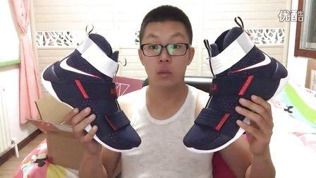 平仔球鞋视频第52期:开箱!詹姆斯战士士兵10代美国队soldier 10