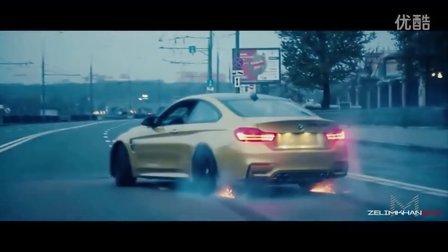 Davidich的BMW M4莫斯科疯狂漂移