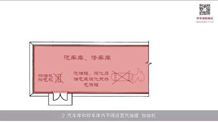 中华消防网校_注册消防工程师_消防安全技术综合能力2_2_2(3)、汽车库、修车库和人防工程的平面布置