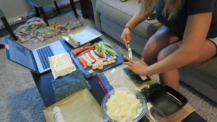 亚伯·阿尔伯尼提 - 自制低脂寿司 距离照片拍摄1周半 - 145