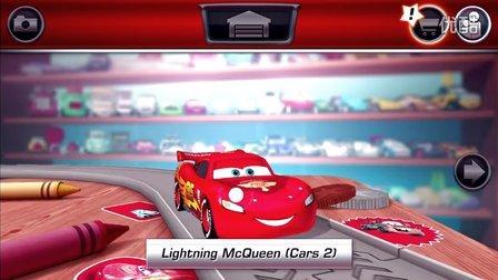 超胆车魂(赛车总动员)第1期 闪电麦坤空中特技★小汽车玩具游戏