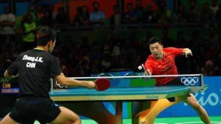 里约奥运会乒乓球男子单打金牌赛中国队乒乓球队长马龙实现个人首个大满贯夺冠军金牌张继科打瞌睡没睡醒获亚军银牌日本获铜牌