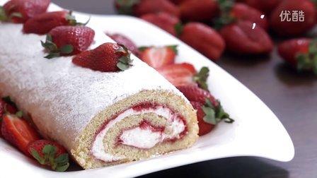 鸡蛋草莓蛋糕的做法