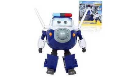 小猪佩奇小黄人拆超级飞侠2包警长玩具
