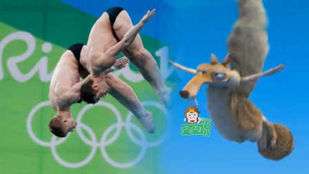 太空跳水 好莱坞萌物叫板里约奥运会 05