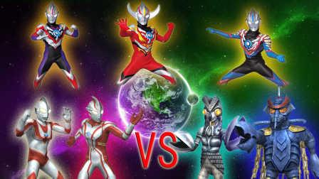 【Ultraman Fighting Evolution  0】VS CPU HRAD难度(欧布奥特曼音乐试用第七弹)小影!