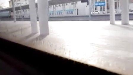 1133次列车(天津-乌海西)出呼和浩特站