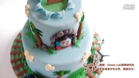 如何制作Thomas小火车翻糖蛋糕?-翻糖蛋糕教程{Sweet-Lab}