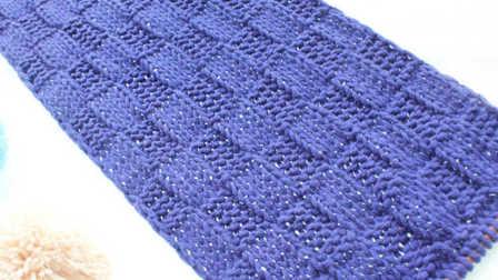 织围巾的花样方法视频教程