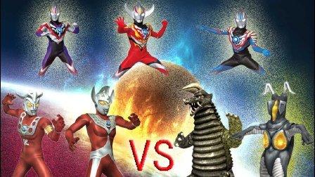 【Ultraman Fighting Evolution  0】VS CPU HRAD难度(欧布奥特曼音乐试用第八弹)小影!