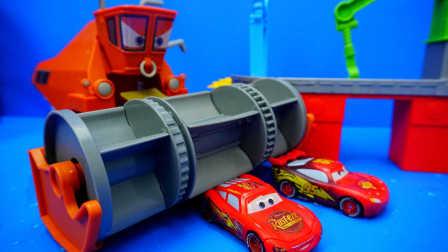 赛车总动员 可恶的弗兰克割草机 迪士尼 玩具 汽车总动员