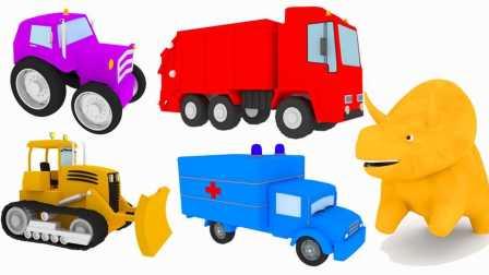 恐龙戴诺 第7集 和卡车学习颜色