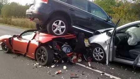 国外车祸视频合集 #14 行车记录仪车祸画面 交通事故视频合集 车祸现场视频