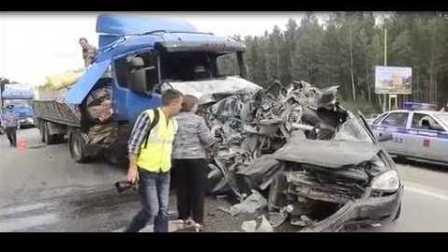 国外车祸视频合集 #19 行车记录仪车祸画面 交通事故视频合集 车祸现场视频