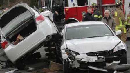 国外车祸视频合集 #22 行车记录仪车祸画面 交通事故视频合集 车祸现场视频