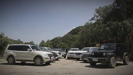ams车评网 硬派中的硬派 50万以下 SUV集中测试(下)丰田普拉多、哈佛H9、哈佛H5、江铃驭胜