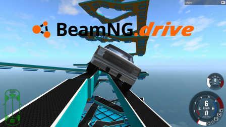 【丧尸】BeamNG Drive Carkour 2