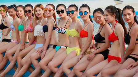 2016亚洲平面模特比基尼秀 身材曼妙长腿霸屏