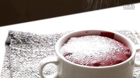 [Jennysta小吃货] 红色天鹅绒岩浆蛋糕 Red Velvet Lava Cake