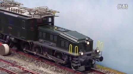 电力机车 型电力机车 火车 德国 电力机车视频 火车客车车厢纸模型 火车客车车厢 铁道模型视频 火车模型沙盘 HO轨距型电力机车