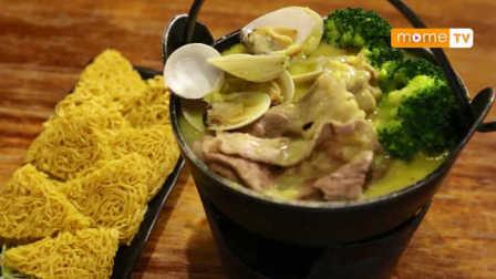 【YummyMome】吃货在澳门 | 澳门美食:辣辣芝士火锅配煎面|全澳独创干脆煎面
