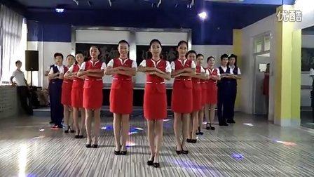 华航教育空乘播音编导艺考礼仪操