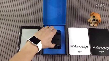 【安润出品】亚马逊kindle voyage开箱测试,中高端电子墨水屏阅读器「安润瘦身老师原创」大润润解说