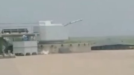 海军76mm舰炮测试