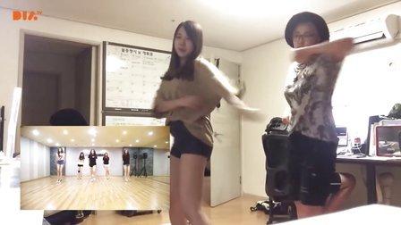 [韩国美妆达人_SSIN] SSIN的逗逼日常 - 学女朋友的舞蹈 Girl friend 今天开始我们
