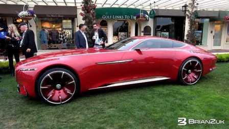 梅赛德斯迈巴赫发布首款概念车 Vision Mercedes-Maybach 6