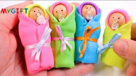MYGIFT-手工制作创意教程-用木珠制作可爱呆萌的木偶娃娃
