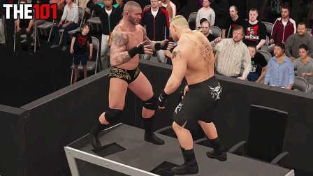 十大rko 中文解说 WWE兰迪奥顿2K16版十大无处不在RKO 布洛克连续中招 2016年8月26日期