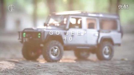 GO JEEP 10【LAND ROVER 90&110 LIFE】模型车路虎卫士D90&D110越野攀爬车视频-RC4WD