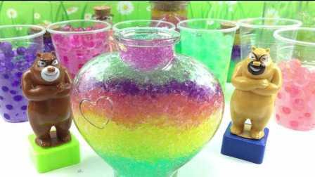 水舞珠珠制作漂亮的星云瓶许愿瓶