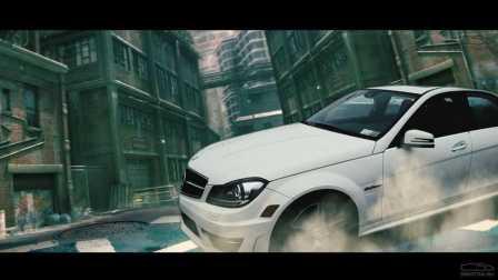 Davidich在此测试Mercedes C63 AMG
