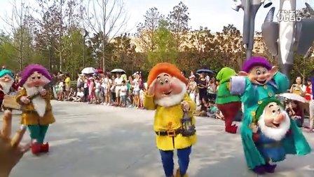 花车巡游@上海迪斯尼乐园