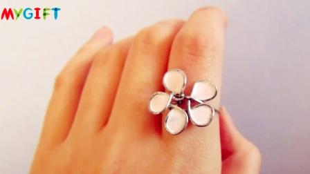 MYGIFT-生活创意-日记本的线圈改造成美美的戒指