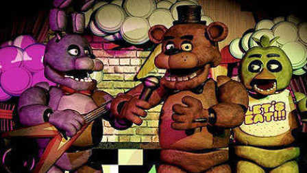 【<珍藏>后主搬运-Five Nights at Freddys2玩具熊的午夜后宫2】恐怖小电影  高能预警