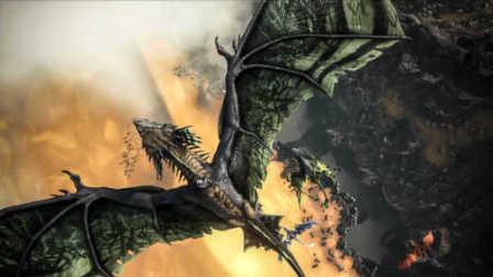 【舍长制造】方舟最新魔幻风DLC!火龙、巨螳螂和萌萌的大耳猴?—方舟:焦土 试玩
